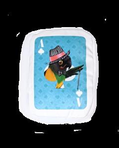 PLUSH - MAD MONTY POKER CARD SKY