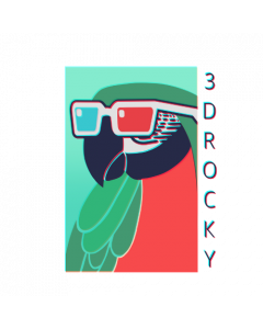 ROCKY3D STICKER